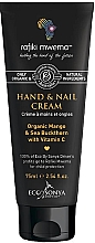 Düfte, Parfümerie und Kosmetik Hand- und Nagelcreme mit Mango, Sanddorn und Vitamin C - Eco by Sonya Hand & Nail Cream For Rafiki Mwema
