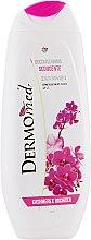 Düfte, Parfümerie und Kosmetik Nawilżający żel pod prysznic Kaszmir i orchidea - Dermomed Cashmere & Orchid Shower Gel