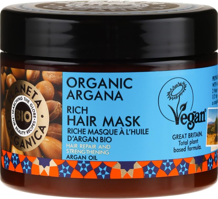 Regenerierende Haarmaske - Planeta Organica Organic Argana Rich Hair Mask