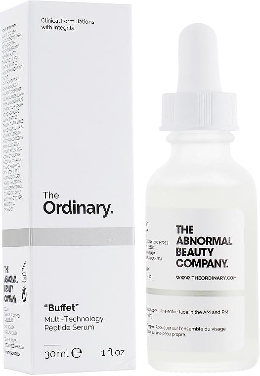 """Anti-Aging Gesichtsserum mit mehreren Peptiden und Hyaluronsäure """"Buffet"""" - The Ordinary Buffet Multi-Technology Peptide Serum"""