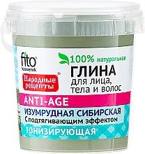 Düfte, Parfümerie und Kosmetik Smaragdgrüner Sibirischer Ton für Gesicht, Körper und Haar - Fito Kosmetik