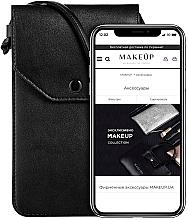 Düfte, Parfümerie und Kosmetik Handytasche zum Umhängen Cross schwarz - Makeup Phone Case Crossbody Black