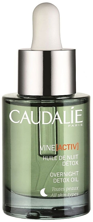 Detox Nachtöl für das Gesicht - Caudalie VineActiv Overnight Detox Oil