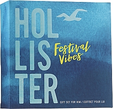 Düfte, Parfümerie und Kosmetik Hollister Festival Vibes For Him - Duftset (Eau de Toilette/50ml + Duschgel/100ml)