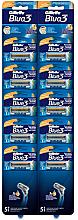 Düfte, Parfümerie und Kosmetik Set Rasierer 10 St. - Gillette Blue 3