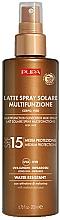 Düfte, Parfümerie und Kosmetik Sonnenschutzmilch für Gesicht und Körper SPF 15 - Pupa Multifunction Sunscreen Milk Spray