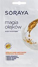 Düfte, Parfümerie und Kosmetik Gesichtsmaske mit Argan-, Macadamia und Jojobaöl - Soraya Magic Of Oils Intensively Nourishing Oil Mask