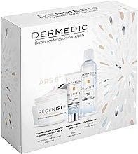 Düfte, Parfümerie und Kosmetik Gesichtspflegeset - Dermedic Regenist Anti-Ageing Ars 5 (Gesichtscreme 50ml+Augencreme 7ml+Mizellenwasser 100ml)