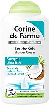 Düfte, Parfümerie und Kosmetik Duschcreme mit Kokosextrakt - Corine De Farme Shower Cream