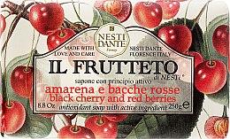 Düfte, Parfümerie und Kosmetik Naturseife Black Cherry & Red Berries - Nesti Dante Il Frutteto Soap