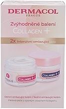 Düfte, Parfümerie und Kosmetik Gesichtspflegeset - Dermacol Collagen+ (Tagescreme 50ml + Nachtcreme 50ml)