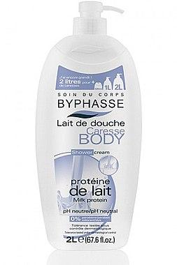 Duschcreme mit Milchprotein - Byphasse Caresse Shower Cream