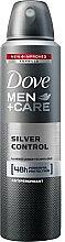 Düfte, Parfümerie und Kosmetik Deospray Antitranspirant - Dove Men+ Care Silver Control Antiperspirant Spray