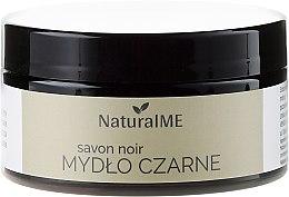 Düfte, Parfümerie und Kosmetik Schwarzes Körperpeeling aus reinem Olivenöl - NaturalME Black Soap Savon Noir