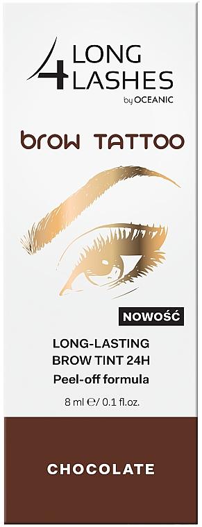 Langanhaltende Augenbrauentinte - Long4Lashes Brow Tattoo Long Lasting Brow Tint 24h