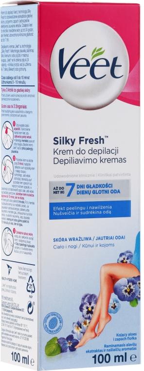 Enthaarungscreme für empfindliche Haut - Veet
