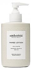 Düfte, Parfümerie und Kosmetik Handlotion mit Sheabutter, Mandelöl und Aloe Vera - Estelle & Thild Citrus Menthe Hand Lotion