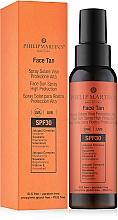 Düfte, Parfümerie und Kosmetik Sonnenschutzlotion für das Gesicht mit Vitamin E SPF30 - Philip Martin's Face Tan SPF 30