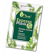 Düfte, Parfümerie und Kosmetik Straffende und feuchtigkeitsspendende Gesichtsmaske mit grünem Algen-Kaviar - Ava Laboratorium Beauty Express Mask Green Caviar Algae