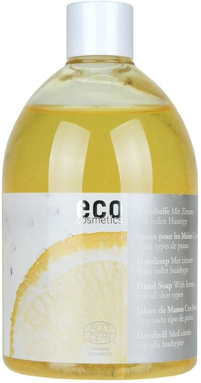 Handseife mit Zitrone - Eco Cosmetics Eco Hand Soap With Lemon  — Bild N1