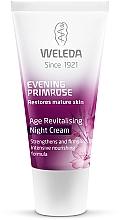 Düfte, Parfümerie und Kosmetik Revitalisierende Anti-Aging Nachtcreme für reife Haut - Weleda Evening Primrose Age Revitalizing Night Cream