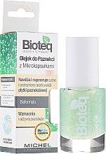 Düfte, Parfümerie und Kosmetik Nagel- und Nagelhautöl mit Mikrokapseln - Bioteq Nail Oil With Microcapsules