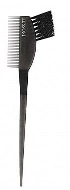 Haarfärbepinsel mit Kamm schwarz - Lussoni