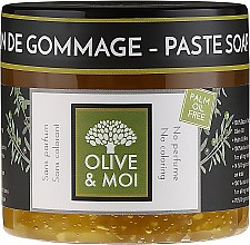 Düfte, Parfümerie und Kosmetik Geruchlose schwarze Peelingseife - Saryane Olive & Moi Savon Noir