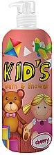 Düfte, Parfümerie und Kosmetik 2in1 Duschgel und Badeschaum für Kinder mit Kirschduft - Hegron Kid's Cherry Bath & Shower