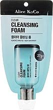 Düfte, Parfümerie und Kosmetik Gesichtsreinigungsschaum mit Maulbeerrindenextrakt - Alice Koco Clear Cleansing Foam
