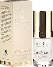 Düfte, Parfümerie und Kosmetik Straffendes Gesichtsserum mit 24K Gold - Herla Gold Supreme 24K Gold Concentrated Anti-Age Serum Booster