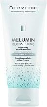 Düfte, Parfümerie und Kosmetik Aufhellende Mizellen-Reinigungsemulsion - Dermedic MeLumin Depigmenting Micellar Emulsion