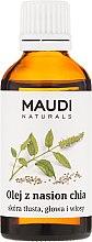 Düfte, Parfümerie und Kosmetik Chiasamenöl für Körper, Gesicht und Haare - Maudi