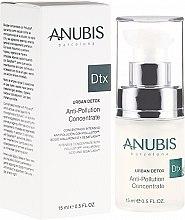 Düfte, Parfümerie und Kosmetik Bio-Gesichtskonzentrat mit Hyaluronsäure - Anubis Dtx Urban Detox Anti-Pollution Concentrate