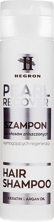 Reparierendes Shampoo für strapaziertes Haar - Hegron Pearl Recover Hair Shampoo