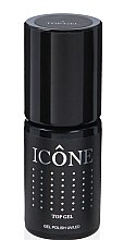 Düfte, Parfümerie und Kosmetik Gel Decklack - Icone Gel Polish UV/LED Top Gel