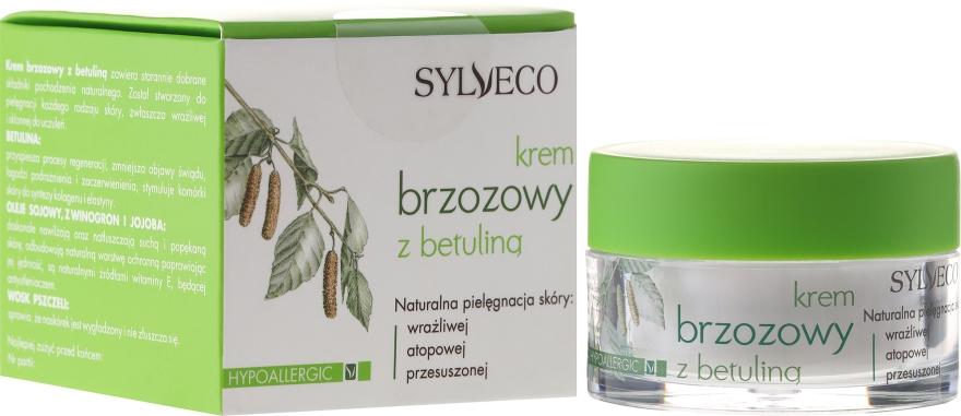 Hypoallergene Birkencreme mit Betulin - Sylveco Hypoallergic Birch Day And Night Cream