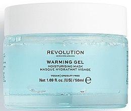 Düfte, Parfümerie und Kosmetik Feuchtigkeitsspendende Gesichtsmaske - Makeup Revolution Skincare Warming Gel Moisturising Face Mask