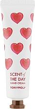Düfte, Parfümerie und Kosmetik Feuchtigkeitsspendende Handcreme mit Blumenduft - Tony Moly Scent Of The Day Hand Cream So Romantic