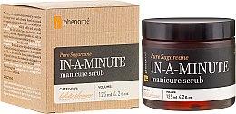 Düfte, Parfümerie und Kosmetik Zuckerhandpeeling - Phenome Pure Sugarcane In-A-Minute Manicure Scrub