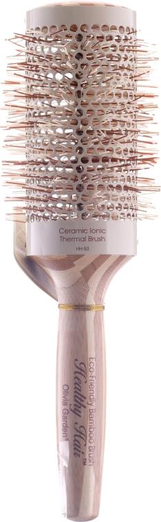 Umweltfreundliche Rundbürste aus Bambus d.53 - Olivia Garden Healthy Hair Eco-Friendly Bamboo Brush — Bild N1