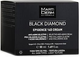 Düfte, Parfümerie und Kosmetik Anti-Aging Gesichtscreme mit Prokollagen, Elastin und Hyaluronsäure - MartiDerm Black Diamond Epigence 145 Cream