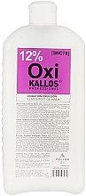 Düfte, Parfümerie und Kosmetik Oxidationsmittel 12% - Kallos Cosmetics oxidation emulsion with parfum
