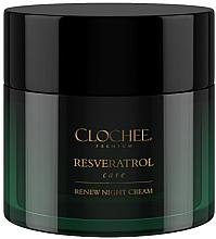 Düfte, Parfümerie und Kosmetik Nachtcreme für trockene und reife Haut - Clochee Premium Renew Night Cream