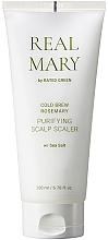 Düfte, Parfümerie und Kosmetik Reinigende Kopfhautmaske mit Rosmarinsaft - Rated Green Real Mary Cold Brew Purifying Scalp Scaler