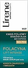 Düfte, Parfümerie und Kosmetik Anti-Falten Augencreme - Lirene Folacyna Lift Intense Cream 60/70+