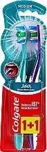 Düfte, Parfümerie und Kosmetik Zahnbürste 360 mittel violett, grün 2 St. - Colgate