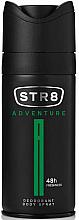 "Düfte, Parfümerie und Kosmetik STR8 Adventure Deo Spray 48H - Deodorant ""The Alum Stone"""