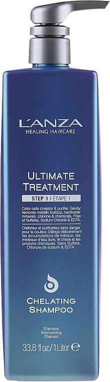 Professionelles sulfatfreies Pflegeshampoo - L'anza Ultimate Treatment Step 1 Chelating Shampoo