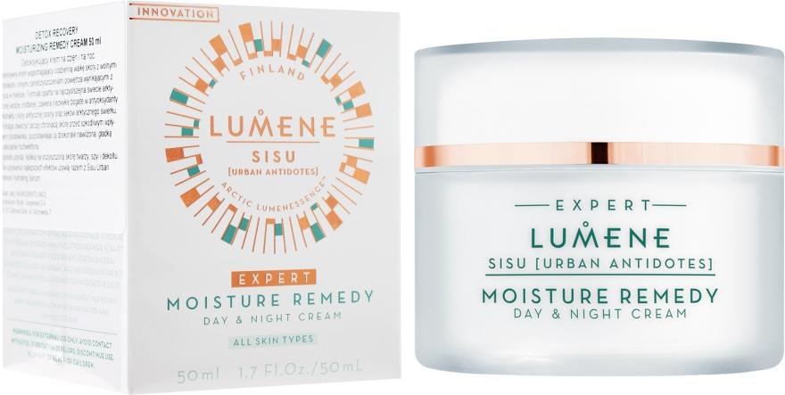 Feuchtigkeitsspendende Gesichtscreme - Lumene Sisu [Urban Antidotes] Moisture Remedy Day&Night Cream — Bild N1